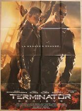 TERMINATOR GENISYS Affiche Cinéma / Movie Poster ARNOLD SCHWARZENEGGER