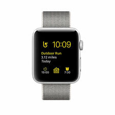 Apple Watch Series 2 38mm Silver Aluminium Case Pearl Classic Buckle