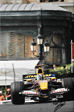 "David Coulthard SIGNED 12x8 Red Bull RB1 ""Star Wars Livery"" Monaco GP 2005"
