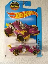 2015 HOT WHEELS (( KNIGHT DRAGGIN' #35 )) PURPLE /  MALAYSIA BASE