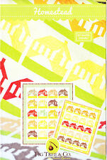 Homestead - fun traditional style pieced quilt PATTERN - Fig Tree & Co