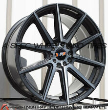 18X8.5 +40 F1R F27 5X112 5X114.3 GUN METAL WHEELS (SET OF 4)