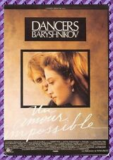 "Carte Postale Affiche de Film - DANCERS ""UN AMOUR IMPOSSIBLE"""
