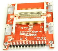 Dual CF Card to 2.5 inch HDD Mounting Holes 44-Pin Male IDE Adapter 2xCF-2.5 IDE