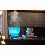 ELLIA Aspire Ultrasonic Essential Oil Aroma Diffuser Glass Blue Remote App Music