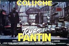 Affiche 60x80cm TCHAO PANTIN (1983) Coluche, Anconina, Agnès Soral EC