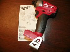 """NEW!! Milwaukee M18 ONE-KEY Fuel 2757-20 Brushless 1/4"""" Hex Impact Driver w/"""