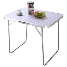 Portable Folding Aluminum Table In/Outdoor Picnic Party Dining Camping Desk New
