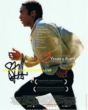 Steve McQueen 12 Years A Slave Signed 10 x 8 Poster Pic  Autograph UACC RD 96