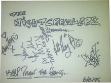 The Nightcrawlers SIGNED AUTOGRAPHS MTVs Most Wanted AFTAL UACC
