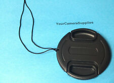 LENS CAP 72mm+HOLDER for Camera  Camcorder Video