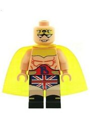 Custom Minifigure British Bulldog Big Ben Superhero Printed on LEGO Parts