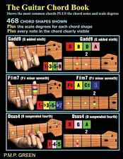 The Guitar Chord Book : Shows the Most Common Chords Plus the Chord Notes and...