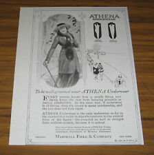 1920 Vintage Ad Athena Underwear for Women Marshall Field & Co
