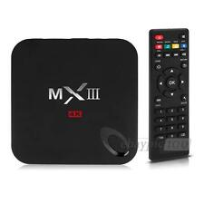 MXIII TV Box Amlogic Quad Core 4K Android 4,4 M82 S802 Octa-Core GPU 1G+8G XBMC