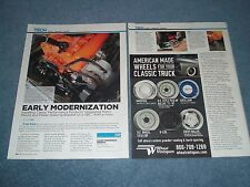 How-To Tech Info Article CPP Chevy Integrated Motor Mount Power Steering Bracket