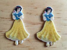 Disney Princess Snow White Planar Resin-Cabochon-Plastic-Hair Bow Center-Craft