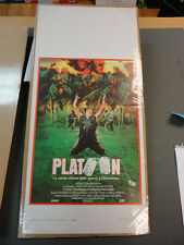 """ Platoon"" / Original Italian Locandina Movie Poster"
