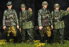ALPINE Mens 35195 tedesco seconda guerra mondiale Granatieri a cavallo l'Imperatrice 2 Figure Set 1 / 35th KIT non verniciata