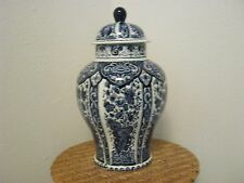 Delfts Boch Royal Sphinx Blue & White Ginger Jar