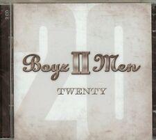 Boyz II Men - Twenty (2012) -  2 CD SET - NEW - FAST FREE SHIPPING !!!