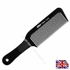 Clipper Comb Create Hair Cuts KODO Black Plastic Barber Comb Hair Salon Barbers