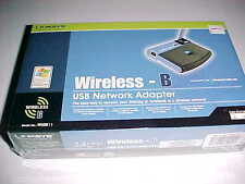 Linksys WUSB11 Wireless-B USB Network Adapter v4 Black New