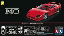 Tamiya 24295 1/24 Scale Model Sport Car Kit Ferrari F40 Coupe Berlinetta