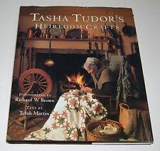 Tasha Tudor Hand Signed 1st Edt Tasha Tudor's Heirloom Crafts by Tovah Martin