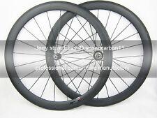 seulement 1390g!ultra léger roues en carbone vélo 50mm pneu de carbone de roues