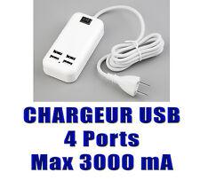 STATION DE CHARGE USB - 4 PORTS - PUISSANCE 15W