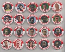 ARSENAL  FC LEGENDS  BADGES  X20