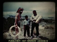 16mm Film: Pueblo Boy 1947 Madison 21m 1s Kodachrome Sound VIDEO Evaluation