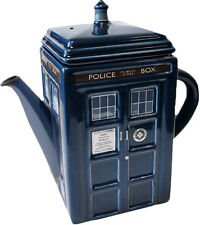 DOCTOR WHO - Tardis Tea Pot (Ikon Collectables) #NEW