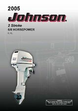Johnson Outboard Owners Manual 2005 2-Stroke / 6 & 8 HP / Model R & RL