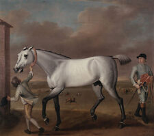 The Duke of Hamiltons Grey Racehorse John Wootton Victorious Pferd B A3 00081