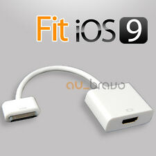 Dock Connector to HDTV HDMI Adapter Cable for iPad iPad2 3 iPhone 4 4s