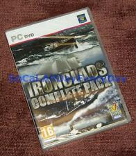 Ironclads Complete Collection 5-Pack PC Games NEW! Civil War High Seas Schleswig