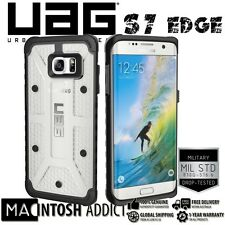 UAG Military Standard Lightweight Composite Case For Galaxy S7 Edge ICE/CLEAR
