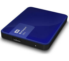 "HARD DISK ESTERNO 2,5"" WD 1TB MY PASSPORT BLU"