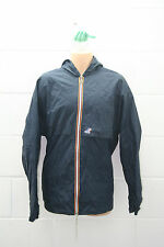 VINTAGE KWAY K-WAY CLAUDE Giacca Pioggia Cappotto Pac-A-Mac 90s Festival XXL kw10