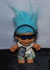 WALKMAN / IPOD  Troll Doll - Russ  inch Troll Doll - earphones & sunglasses