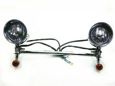 Driving Passing Bullet Turn Signals Spot light Bar For Yamaha Road Royal V Star