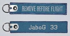 Schlüsselanhänger JaboG 33 - Remove Before Flight  ..........R1042