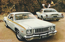 1975 Plymouth Brochure/Catalog:Gold Duster/360,Road Runner,Imperial,Gran Fury,75