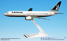 Flight Miniatures Britannia Airways  Boeing 737-800 1:200 Scale Display Mint