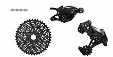 Sram X01 11SP Rear Derailleur Shifter Combo XG-1195 Cassette PC-XX1 Chain Black