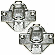 2 x BEKO Washing Machine Door Hinges Pair 2827210100  Replacement Spare Part