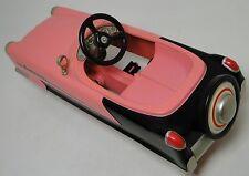 Pedal Car Pink 1950s Cadillac Hot Rod Rare Vintage Classic Midget Show Model
