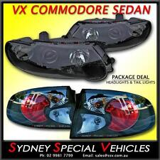 BLACK PROJECTOR HEADLIGHTS & ALTEZZA TAIL LIGHTS TO FIT VX COMMODORE SEDAN